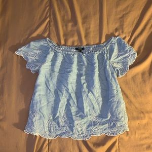 Forever 21 Off The Shoulder Top Size Small